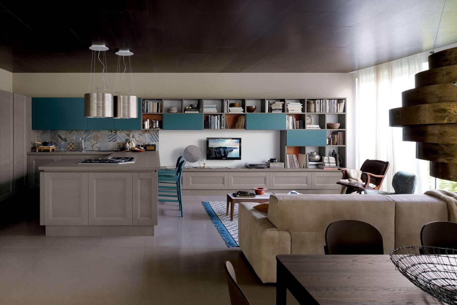 Cucina-soggiorno, come arredare la propria casa con l\'open space